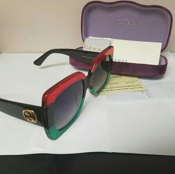 79d3597d17d Gucci Accessories - Authentic Large face Gucci Sunglasses